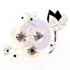 Бумажные цветы Gridley