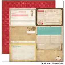 Набор бумаги Homemade with Love
