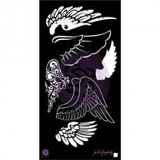 Маска-трафарет 6x12 Stencil — Wings