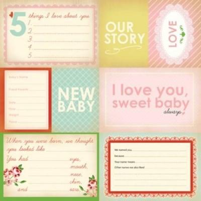 Бумага для скрапбукинга Our Story