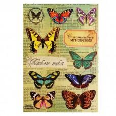 Наклейки декоративные Бабочки Винтаж