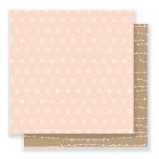 Бумага для скрапбукинга Scattered Daisies 30,5 х 30,5