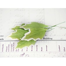 Листья остролиста, зеленые (5 шт)