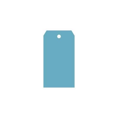 Классический тег (пластик) 6*11см 5шт