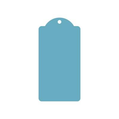 Ажурный тег (пластик) 8*16см 5шт