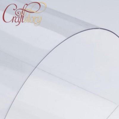 Лист пластика А5 (прозрачный) с закругленными углами (3 шт.)