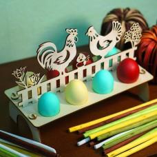 Подставка для яиц - В деревне