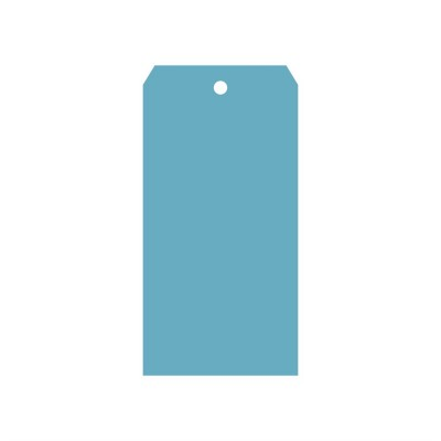 Классический тег (пластик) 8*16см 5шт