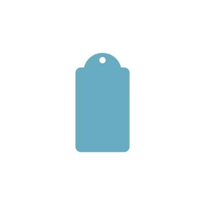 Ажурный тег (пластик) 6*11см 5шт