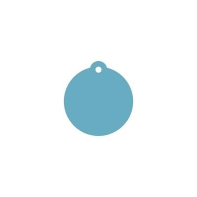 Тег подвесной (пластик) 8см 5шт
