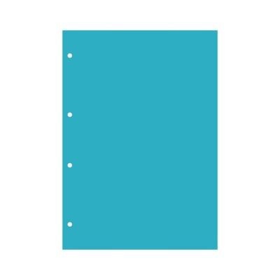Пластик А4 прозрачный вертикальный (4 отверстия) 3шт.