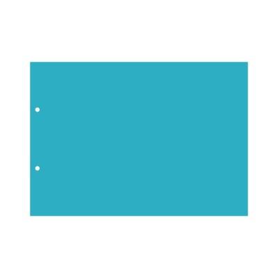 Пластик А4 прозрачный горизонтальный (2 отверстия) 3шт.