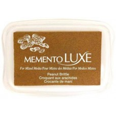 Пигментные чернила Memento Luxe — Peanut Brittle