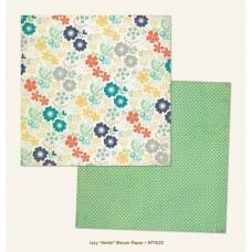 Бумага для скрапбукинга Smile Bloom