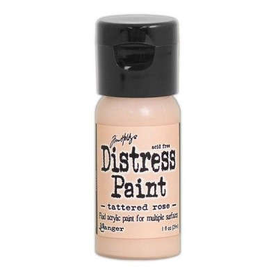 Акриловая краска Distress Paint - Tattered Rose