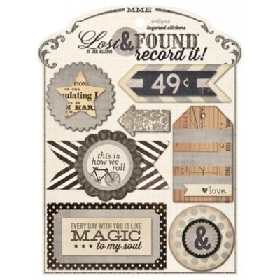 Объемные наклейки Antique