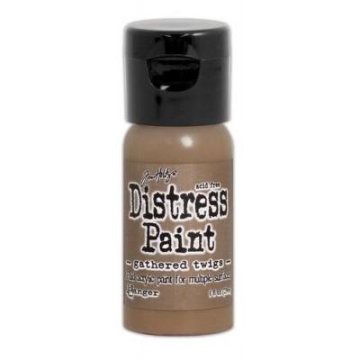 Акриловая краска Distress Paint — Gathered Twigs