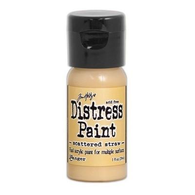 Акриловая краска Distress Paint - Scattered Straw