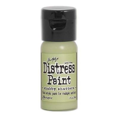 Акриловая краска Distress Paint - Shabby Shutters