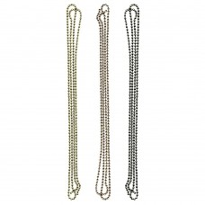 Набор металлических цепочек Ball Chain