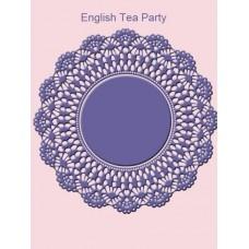 Нож для вырубки English Tea Party Салфетка