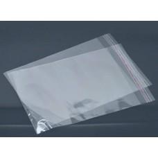 Пакет со скотчем прозрачный (10 шт) 10 х 15