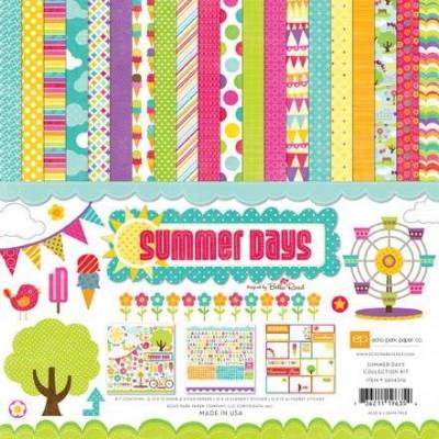 Набор бумаги Summer Days 30,5 х 30,5