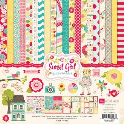 Набор бумаги Sweet Girl 30,5 х 30,5