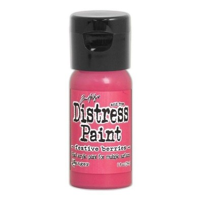 Акриловая краска Distress Paint - Festive Berries