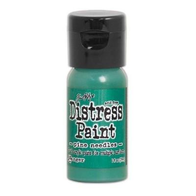 Акриловая краска Distress Paint - Pine Needles