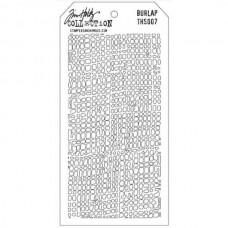 Маска Layering Stencil BURLAP