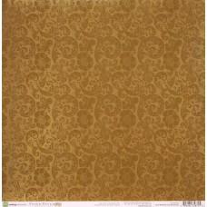 Бумага для скрапбукинга Floral Brocade Varnish 30,5 х 30,5