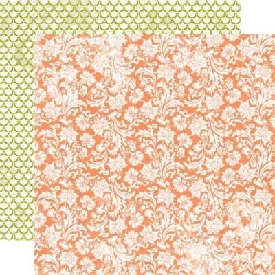 Бумага для скрапбукинга Blooming Blossoms