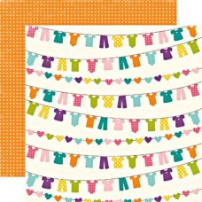 Набор бумаги Little Girl 30,5 х 30,5