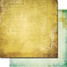 Бумага для скрапбукинга Lab Notes 30,5 x 30,5