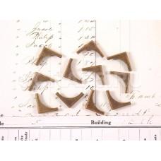Металлические уголки бронза округлые
