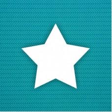 Заготовка Звезда (острая)