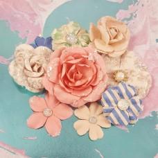 Бумажные цветы Santorini Flowers - Fira