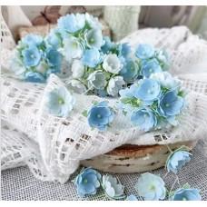 Набор цветов Малыши голубые 1 см