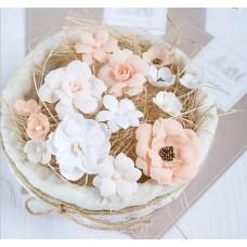 Набор цветов Персиковый микс