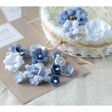 Набор цветов Синий микс