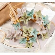 Набор цветов Бархатная осень, гортензии