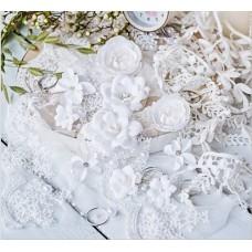 Набор цветов DIAMOND, белый