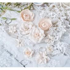 Набор цветов DIAMOND, персиковый